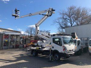 Rothlehner Arbeitsbühnen - Berliner Vermieter erhält GSR B240PX LKW-Arbeitsbühne