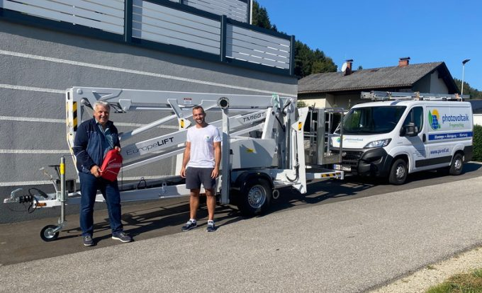 Rothlehner Arbeitsbühnen - Weitere Europelift Geräte ausgeliefert