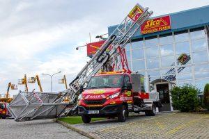 Rothlehner Arbeitsbühnen - MOOG MBI70 Brückensichtgerät in Tschechien