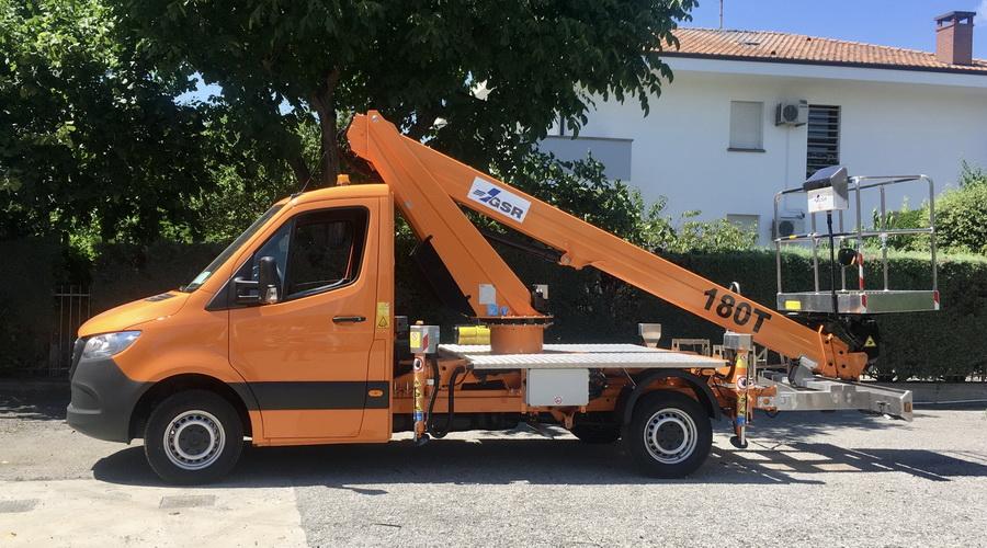 Rothlehner Arbeitsbühnen - Another GSR truck for Herrmann & Wittrock Group