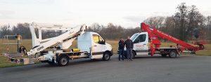 Rothlehner Arbeitsbühnen - ältere LKW-Arbeitsbühne gegen neuen GSR B220PXE ausgetauscht