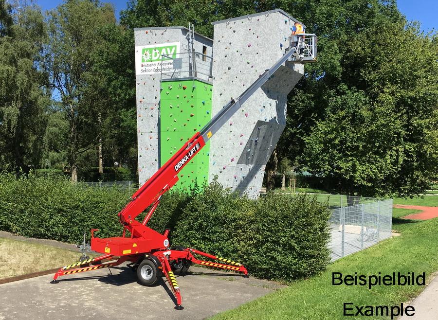 Rothlehner Arbeitsbühnen - Allgäuer Baumaschinen-Vermieter erhält DENKA•LIFT DK18