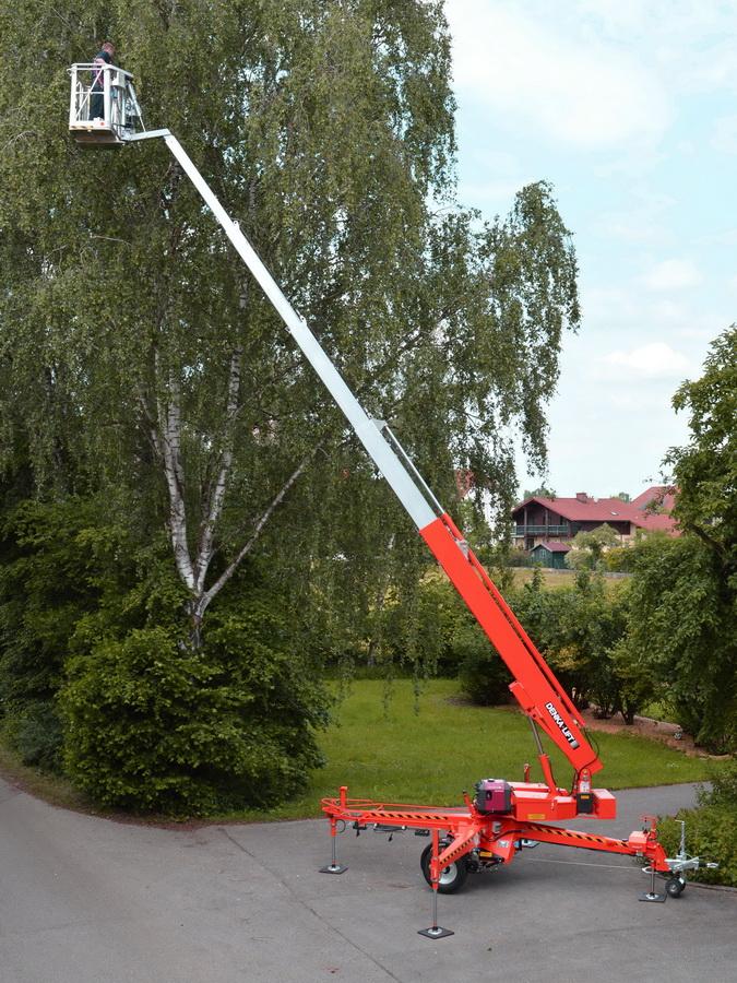 Rothlehner Arbeitsbühnen - DENKA•LIFT DK25 Neugerät für Landschaftspflege Neubauer