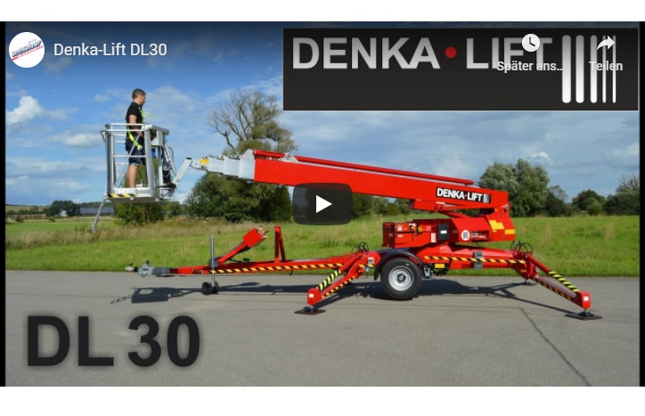 Produkt-Video zum DENKA-LIFT DL30