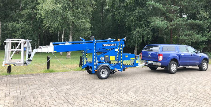 Rothlehner Arbeitsbühnen - Denka-Lift DK18 Neugerät für Photovoltaik-Komplettanbieter