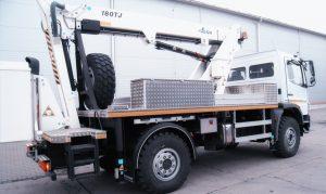 Rothlehner Arbeitsbühnen - Three GSR E180TJ for energy supplier