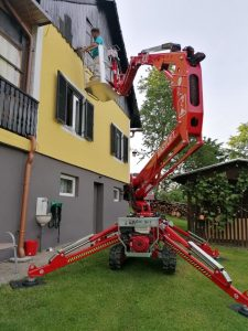 Rothlehner Arbeitsbühnen - Easylift R130 goes to painting company in Austria