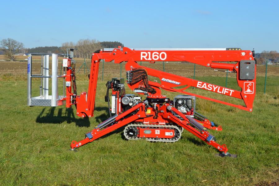Rothlehner Arbeitsbühnen - Boels Rental erhält 32-Geräte Paket von Easylift