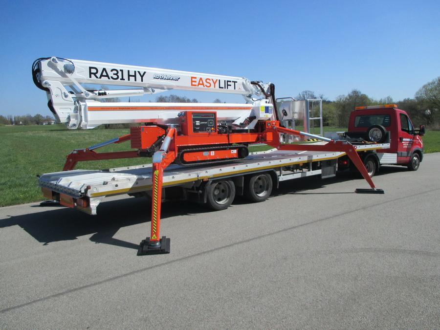 Produktvideos zum Easylift RA26 und RA31