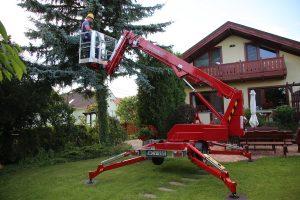 Rothlehner Arbeitsbühnen - Neu im Programm:  der EuropeLift TM15TJ