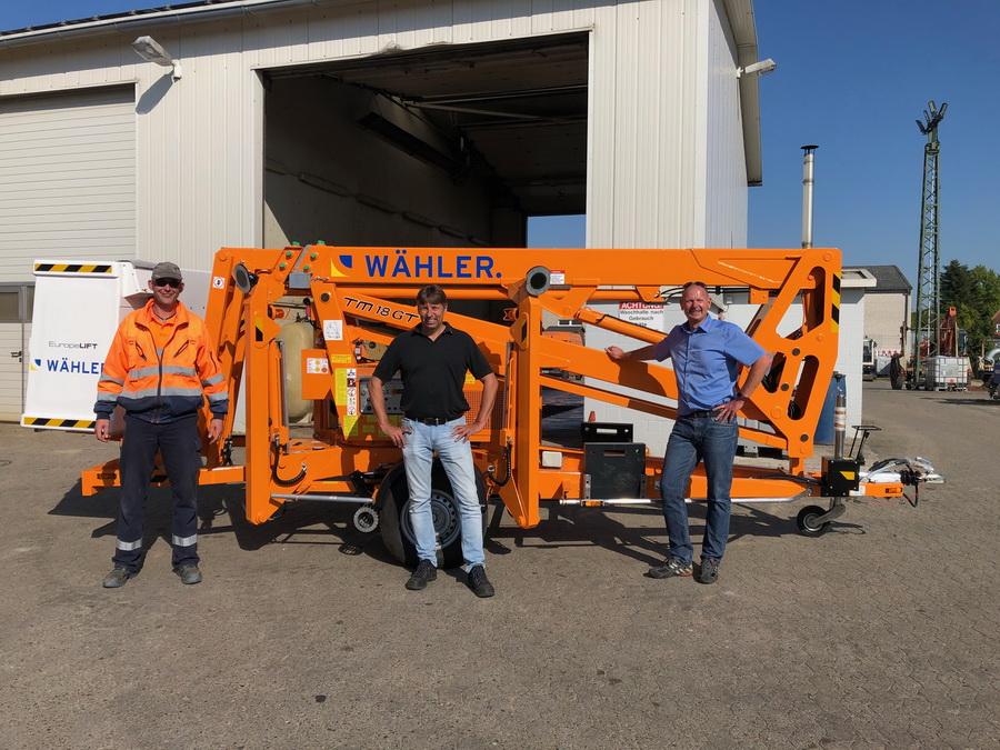 Wähler GmbH receives Europelift TM18GT