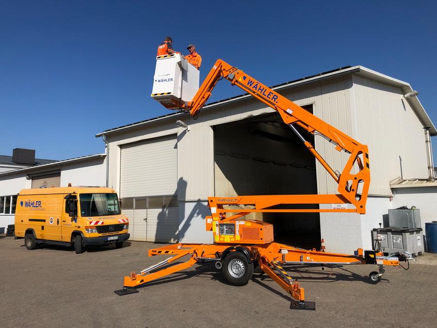 Rothlehner Arbeitsbühnen - Wähler GmbH erhält Europelift TM18GT