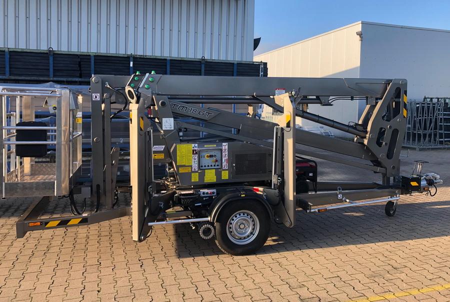 Rothlehner Arbeitsbühnen - Wiko Metallbautechnik receives Europelift TM18GT