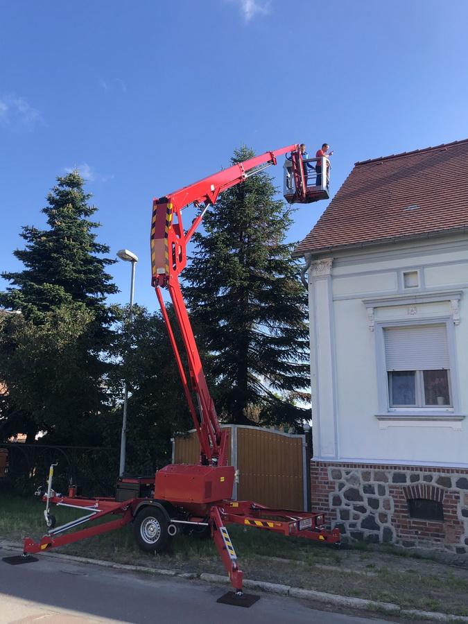 Forstbetrieb erhält EuropeLift TM18GT