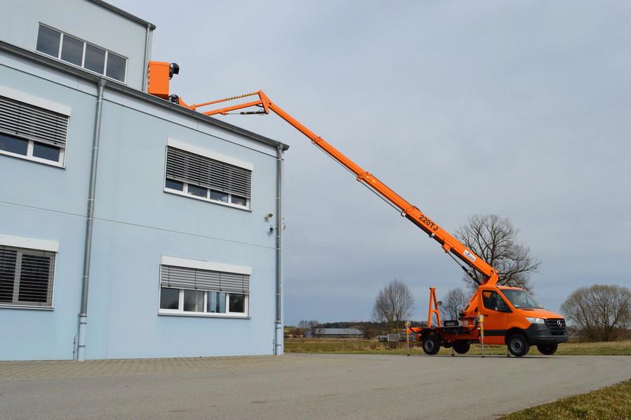 Rothlehner Arbeitsbühnen - GSR B220TJ für Vermiet-Unternehmen LiFTPROFi