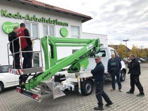 Rothlehner Arbeitsbühnen - Rental Company Koch takes over new GSR B240PX