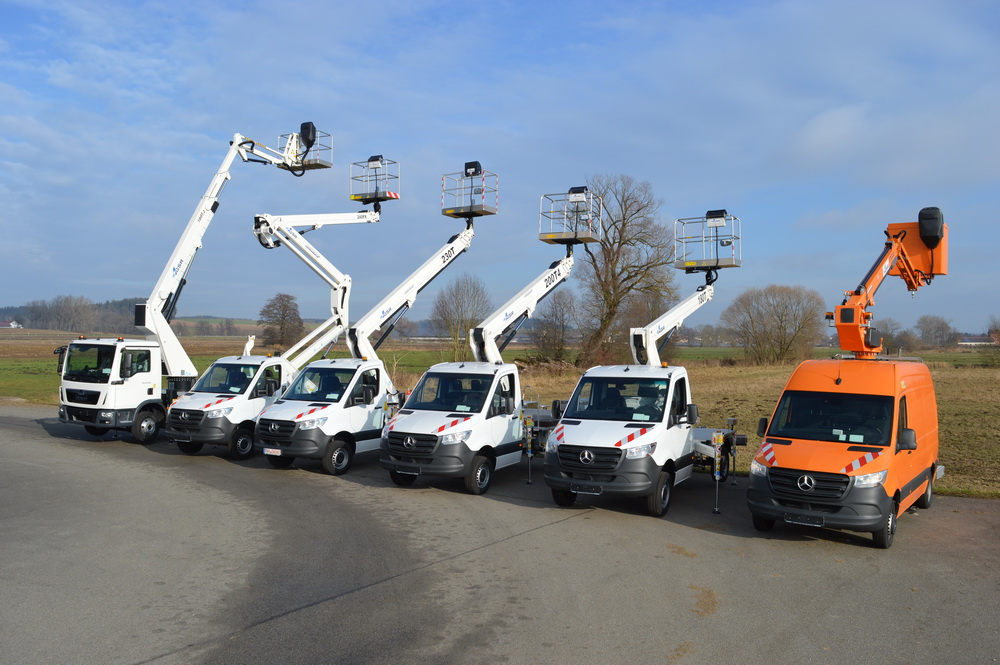 Die aktuelle GSR-Flotte