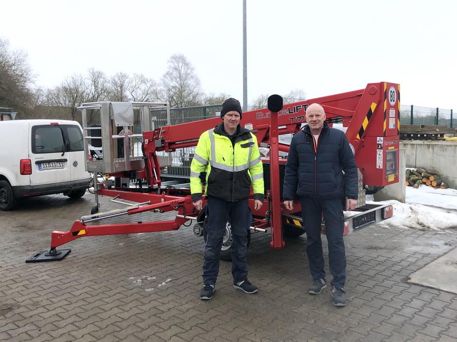 Gemeinde Dummerstorf erhält Europelift TM13T