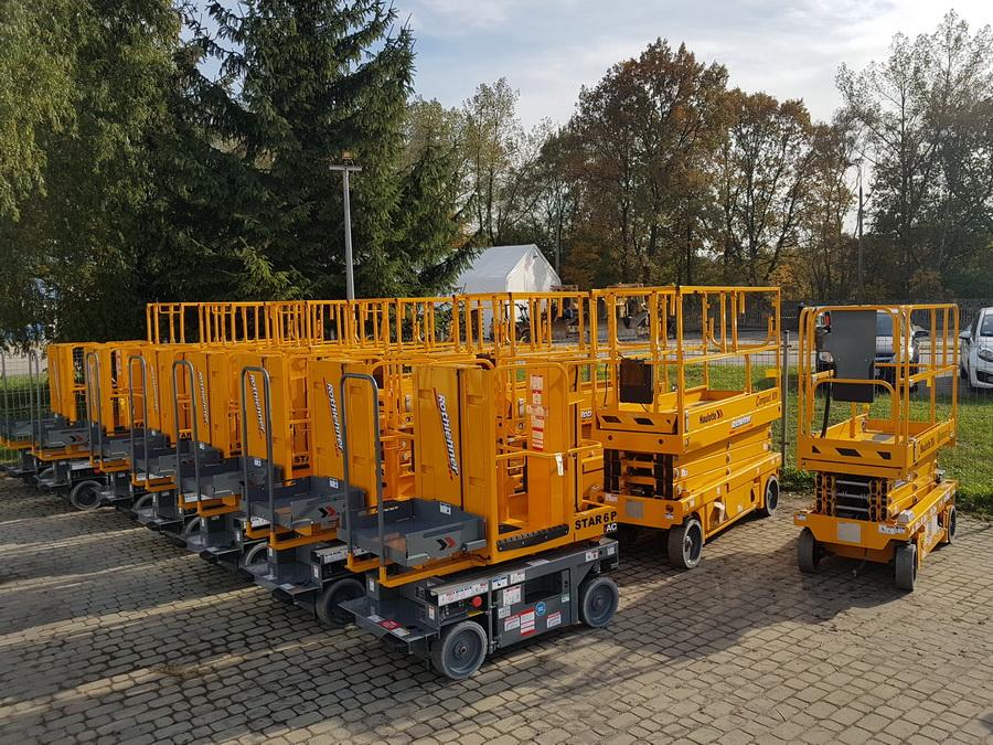 Rothlehner Arbeitsbühnen - Haulotte Star6P für Baumärkte in Polen