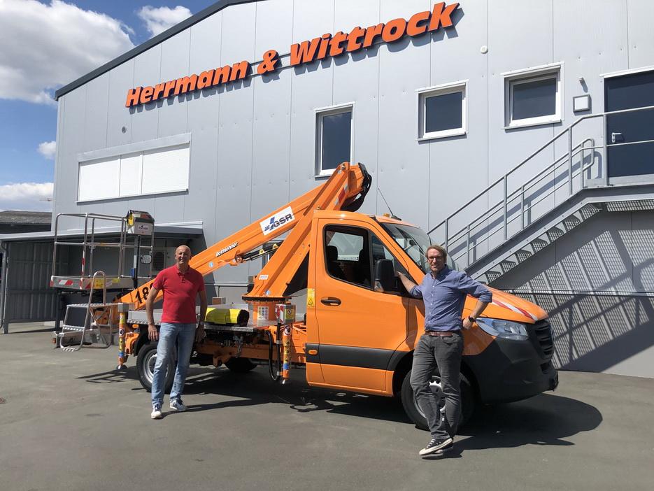Another GSR truck for Herrmann & Wittrock Group