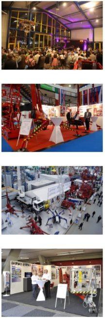 Rothlehner Arbeitsbühnen - Trade Fairs