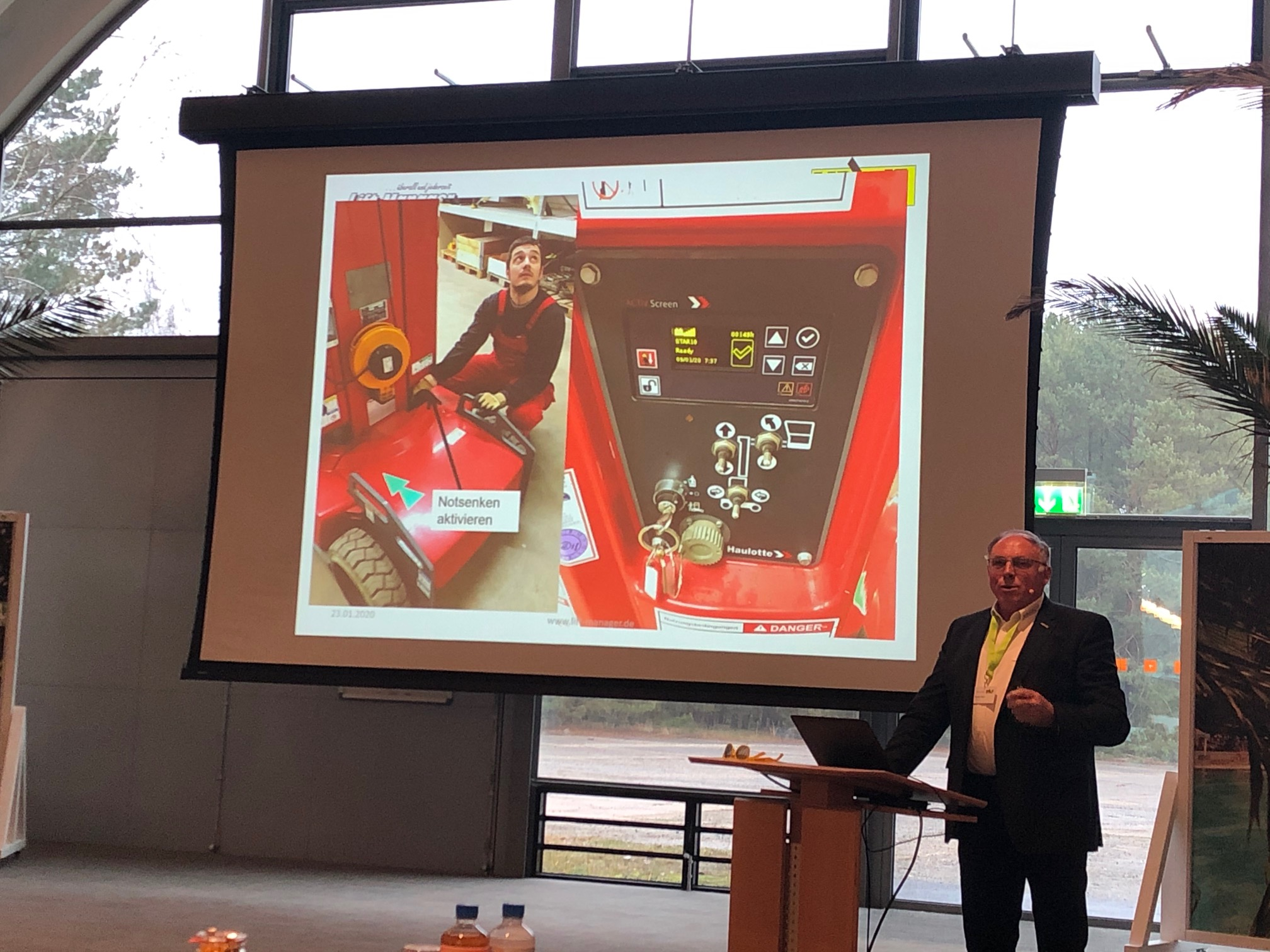 Lift-Manager bei der IPAF Trainer-Tagung 2020