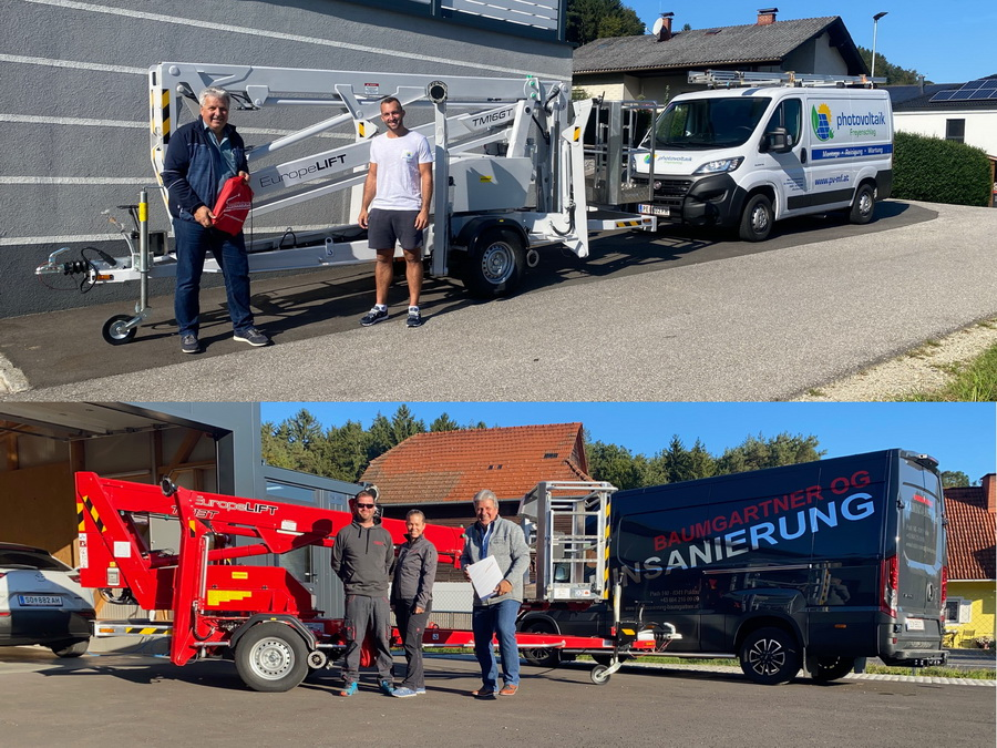 Weitere Europelift Geräte ausgeliefert