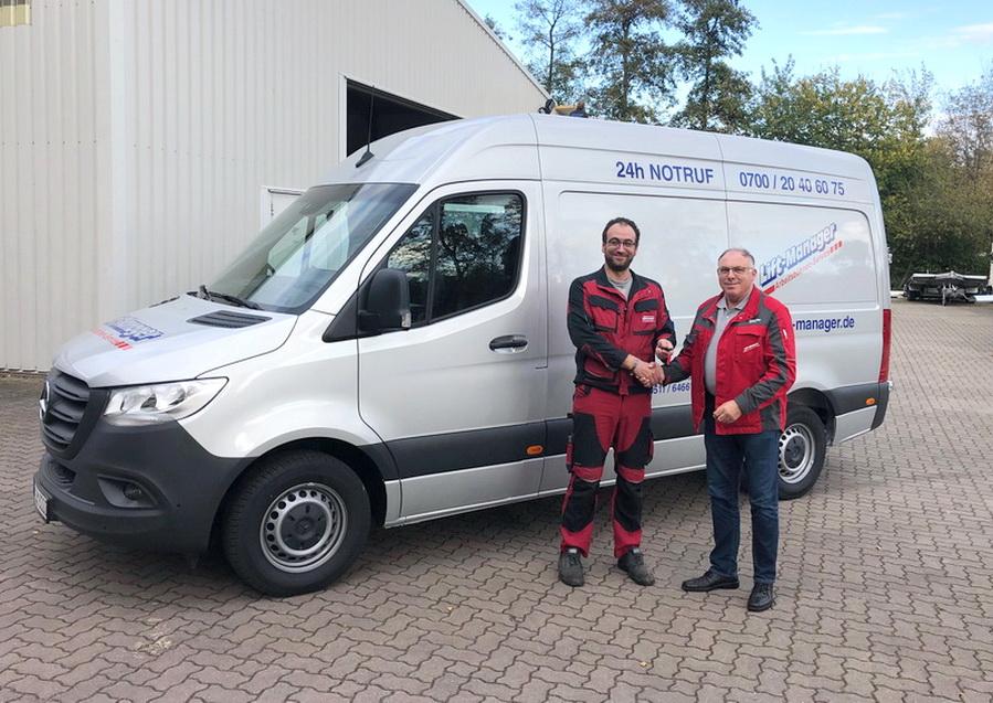 Neuer Service-Sprinter für die Niederlassung Hannover