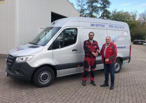 Rothlehner Arbeitsbühnen - Neuer Service-Sprinter für die Niederlassung Hannover