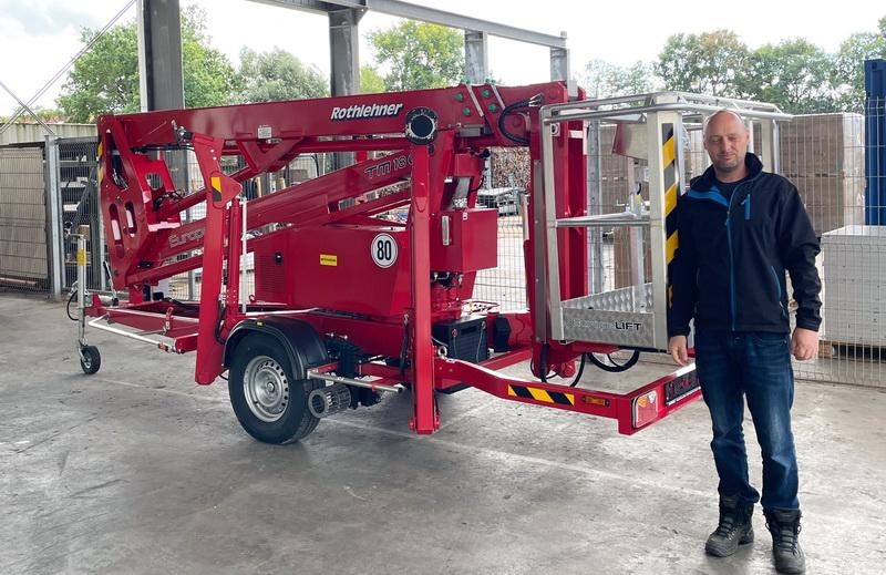 Solaritec GmbH erhält Europelift TM18GT