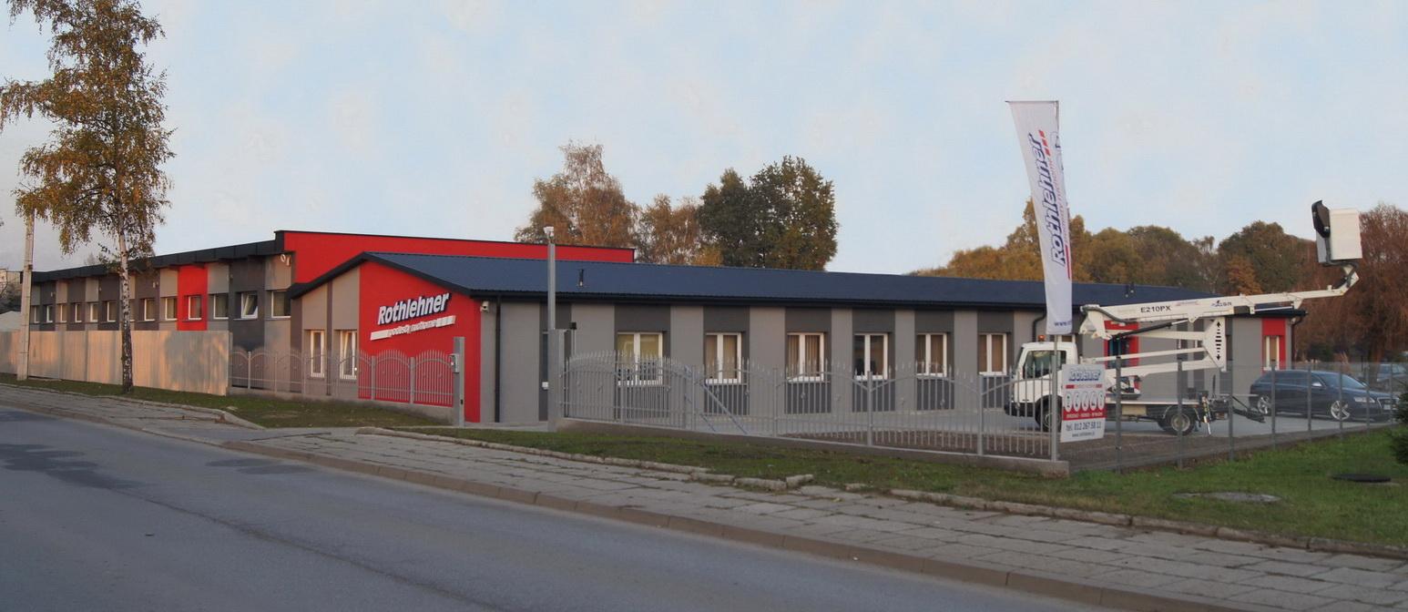 Rothlehner Arbeitsbühnen - Krakau