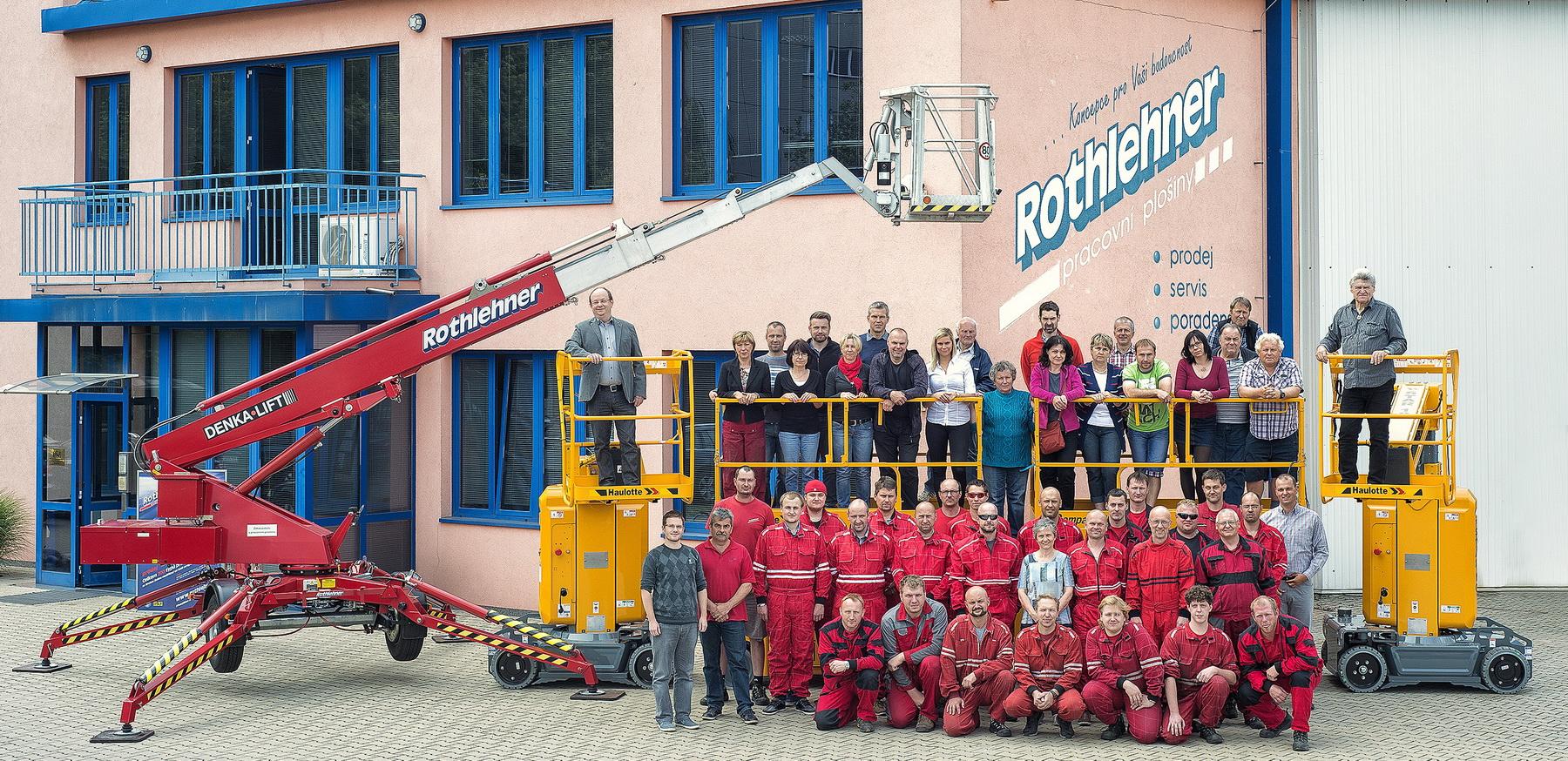 Rothlehner Arbeitsbühnen - krivsoudov