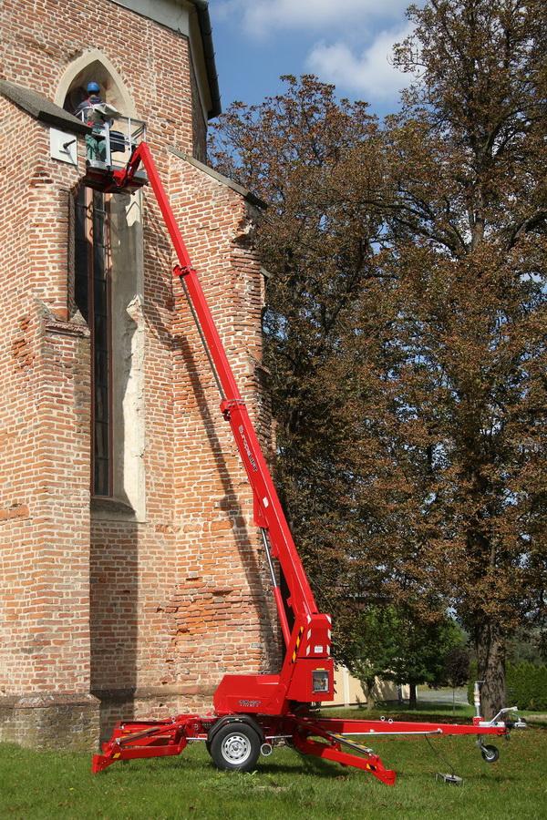 Rothlehner Arbeitsbühnen - Gemeinde Dummerstorf erhält Europelift TM13T