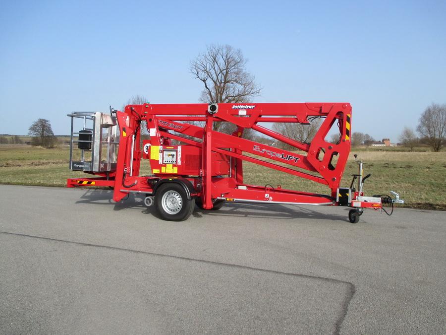 Rothlehner Arbeitsbühnen - Europelift TM16GT beim Deutschen Roten Kreuz im Einsatz
