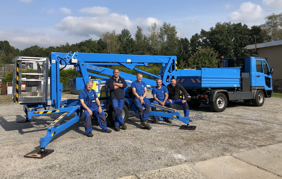 Real Estate company receives Europelift TM18GT