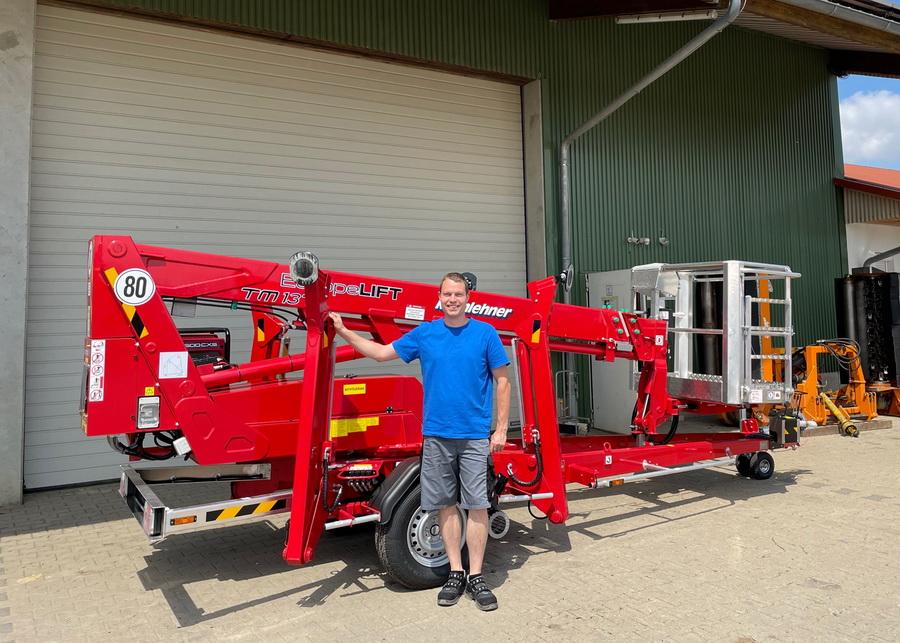 Maschinenring erhält Europelift TM13T