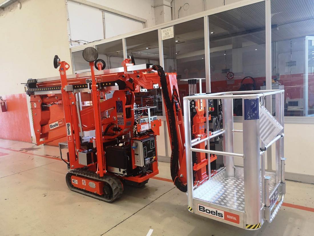 Boels Rental erhält 32-Geräte Paket von Easylift