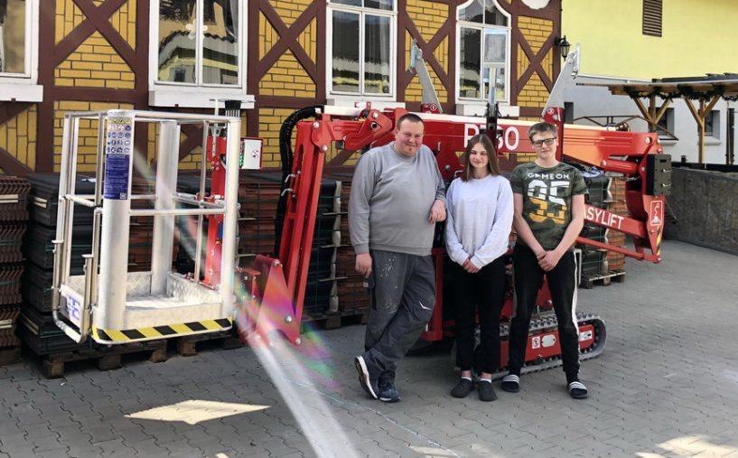 Rothlehner Arbeitsbühnen - Handwerks-Betrieb investiert in Easylift R180