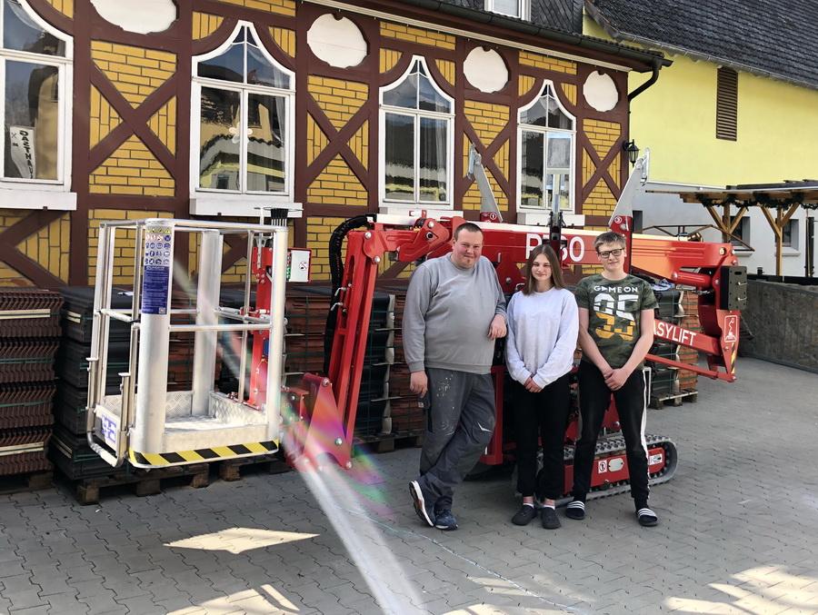 Handwerks-Betrieb investiert in Easylift R180