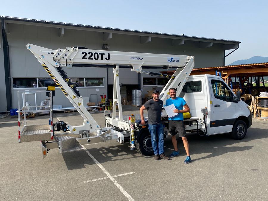 GSR B220TJ goes to Austria