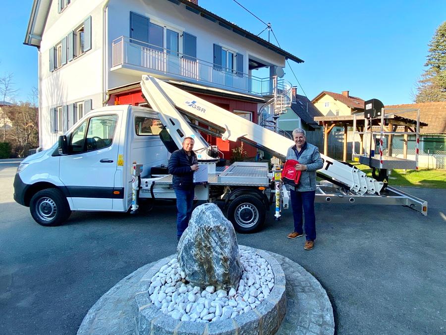 GSR B230T goes to Austria
