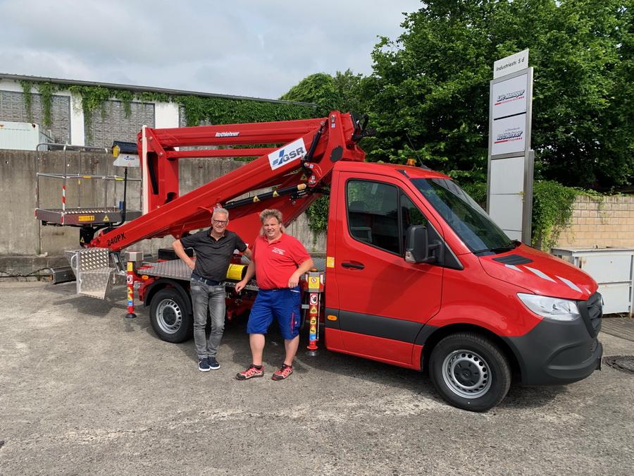 Gebäudereinigung Elias erhält neuen GSR B240PX