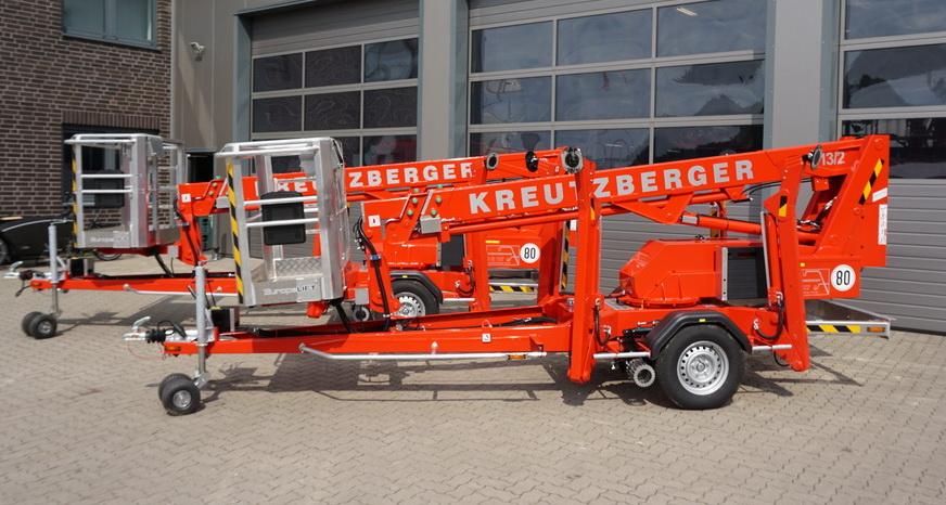 Rothlehner Arbeitsbühnen - Zwei Europelift TM13T für Kreutzberger