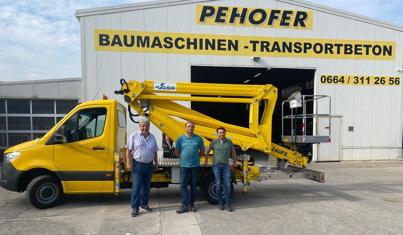 Rothlehner Arbeitsbühnen - Pehofer GmbH erhält zwei GSR B240PX