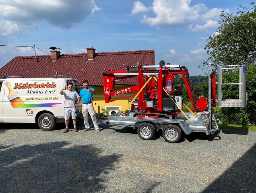 Easylift R130 geht an Malerbetrieb in Österreich