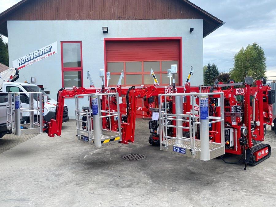 Mehrere Easylift Raupenbühnen in kurzer Zeit ausgeliefert