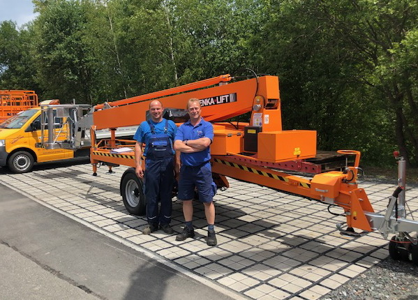 Denka-Lift DK25 for German rental group