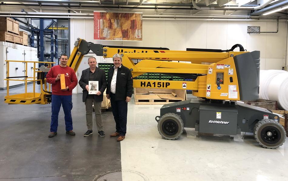3.000th Haulotte Machine delivered