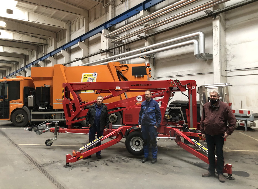 Abfallwirtschaftsbetrieb Chemnitz erhält Europelift TM18GT