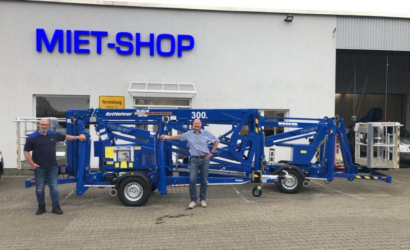 Rothlehner Arbeitsbühnen - Europelift number 300 goes to Wocken